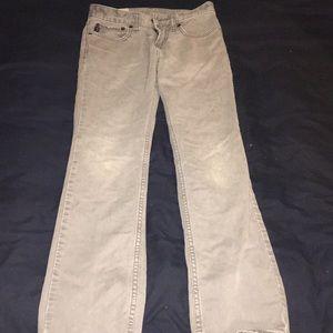 Boys size 12 gray jeans